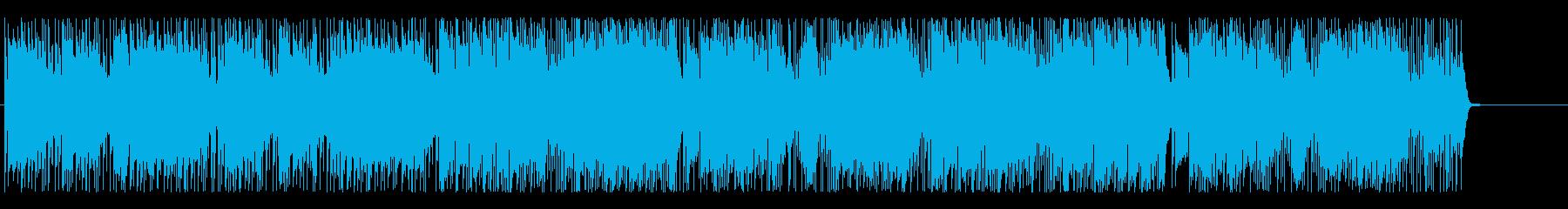 ドラマ 追跡 サスペンス 挑戦 闘志の再生済みの波形
