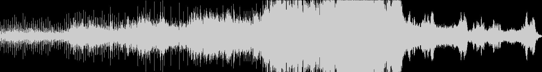 ゆったりとしたスケール感のあるエレクトロの未再生の波形