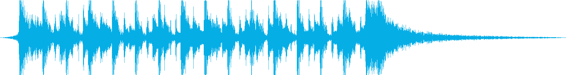 Cheer up bright funky pop's reproduced waveform
