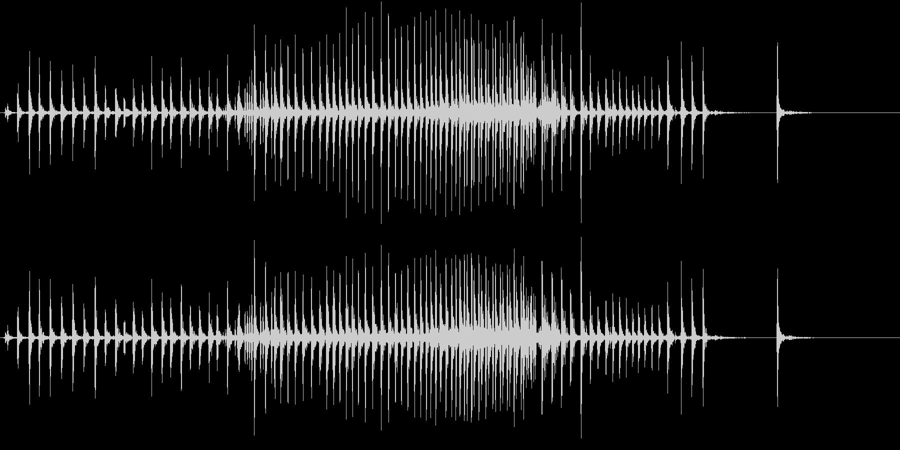 【生録音】ぎゅーっと強く握り締める音 1の未再生の波形