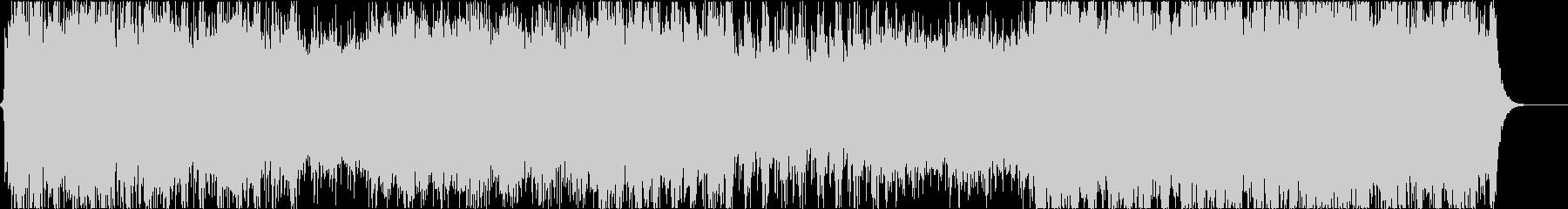 壮大なクワイアのファンタジー曲の未再生の波形