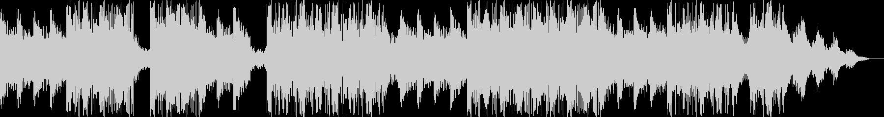 オシャレでダークなピアノBGMの未再生の波形