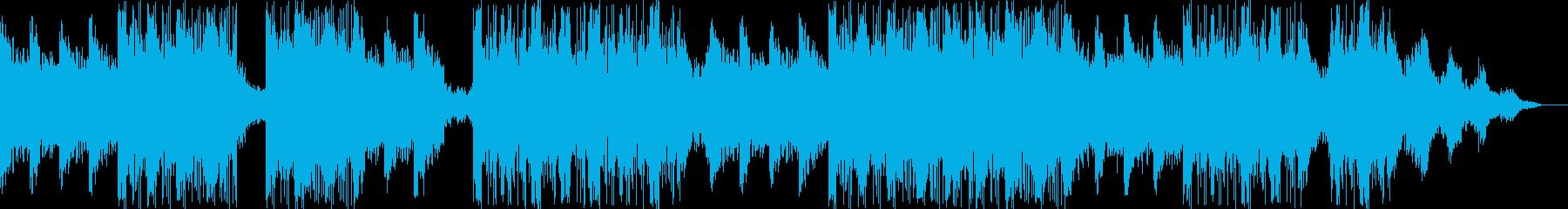 オシャレでダークなピアノBGMの再生済みの波形