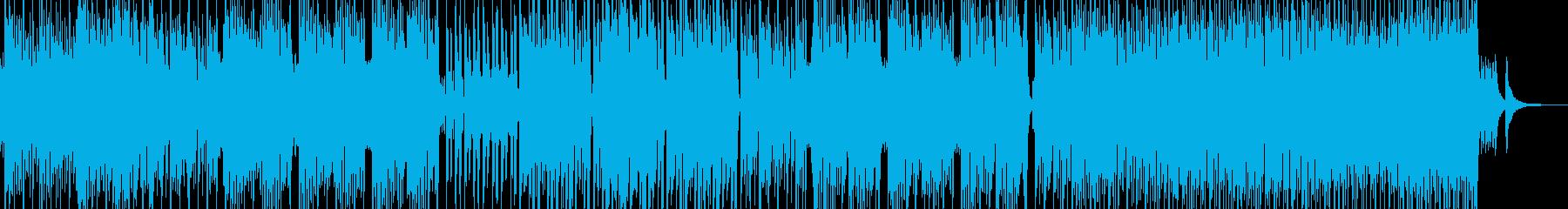 民族的で原始的な雰囲気を演出 エレキ無Aの再生済みの波形