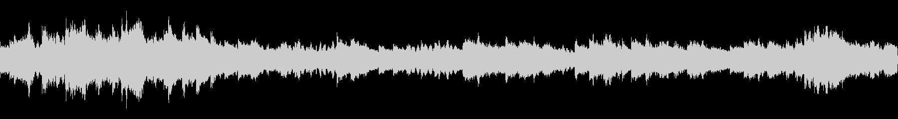 回想のオルゴールバラード曲(ループ仕様)の未再生の波形