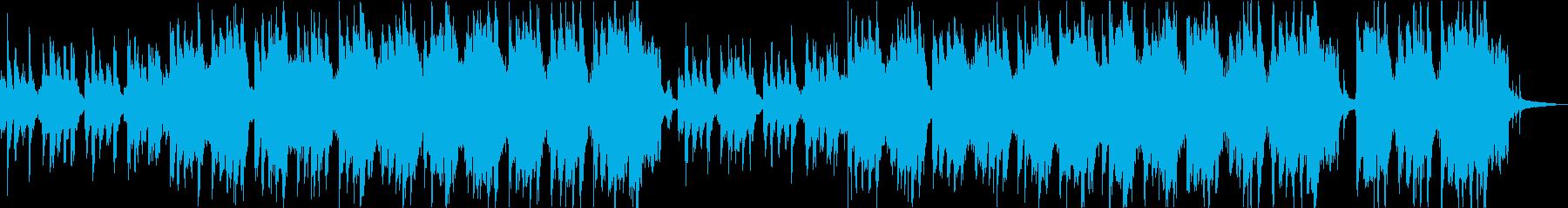 ハロウィンに コミカルでホラーなワルツの再生済みの波形