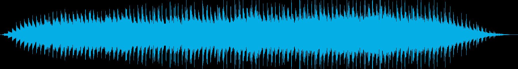 悲哀と新たな始まりをイメージしたBGMの再生済みの波形