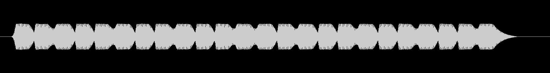ファミコン風 台詞.メッセージ音 02の未再生の波形