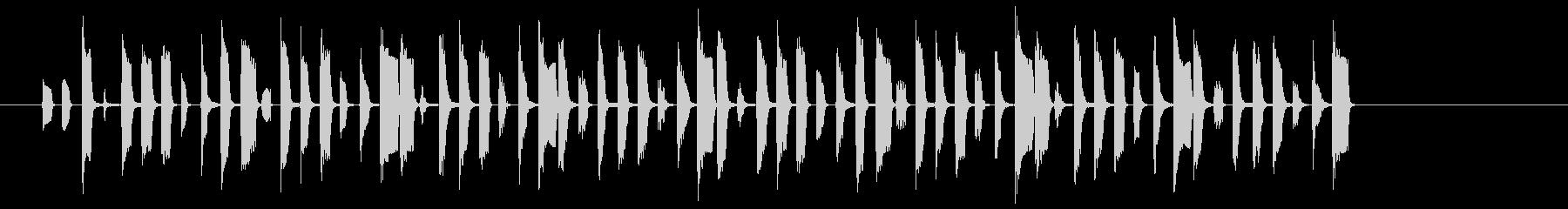 モノ知り博士のワンポイント説明の未再生の波形
