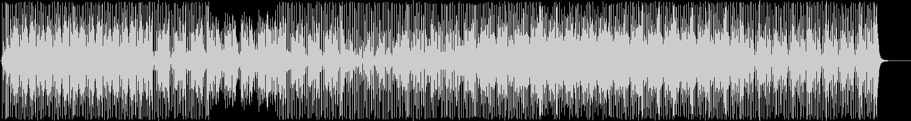 クール-ファンキーなウッドベースビートの未再生の波形