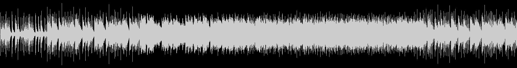 ファンタジーな森のBGMの未再生の波形