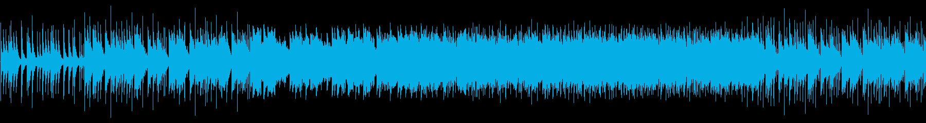 ファンタジーな森のBGMの再生済みの波形