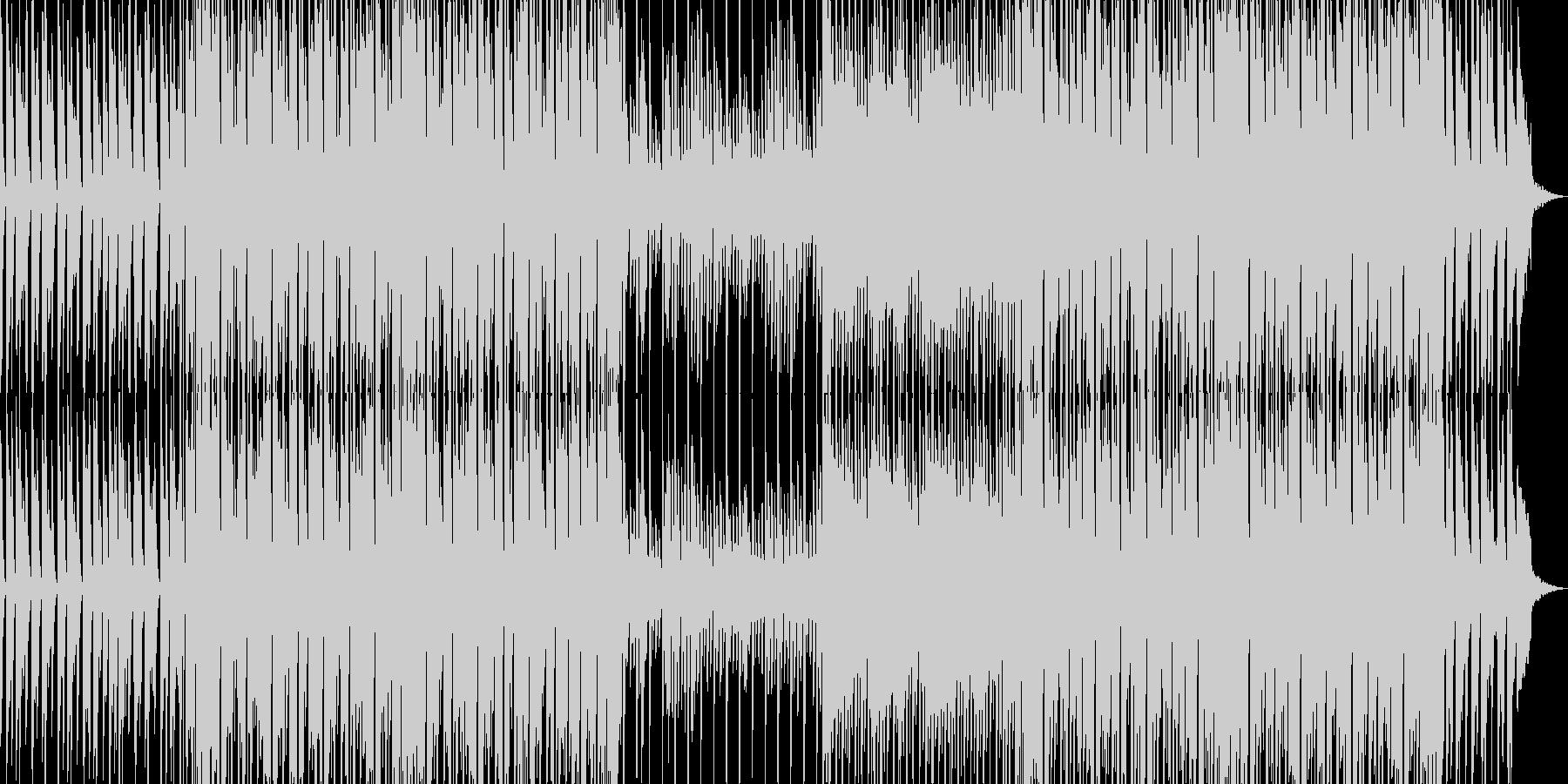 ポップ テクノ ロック ほのぼの ...の未再生の波形