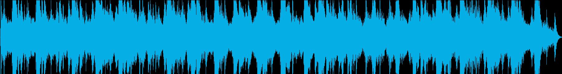 宇宙区間でなっているノイズの再生済みの波形