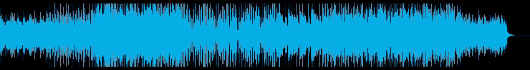 ピアノ伴奏 寂しいトラップBGMの再生済みの波形