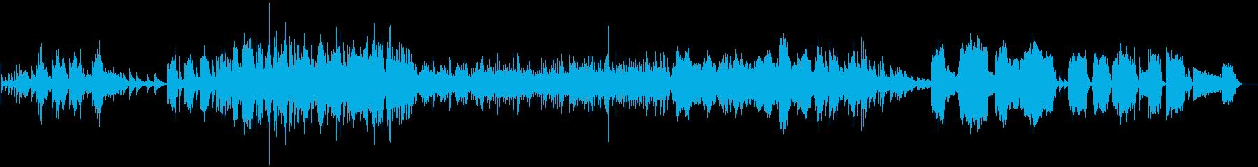 【生入り】和風=箏、篠笛、ピアノしみじみの再生済みの波形