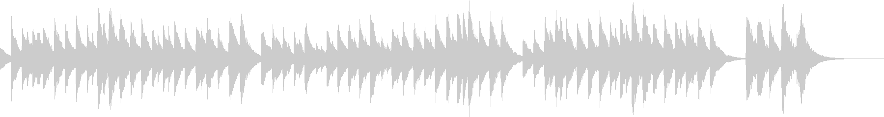 定番クリスマスソングのオルゴールA 1分の未再生の波形