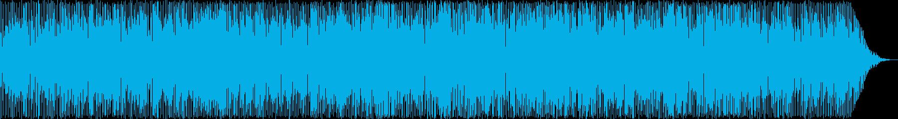 日常の明るい休日のお昼のイメージの楽曲の再生済みの波形