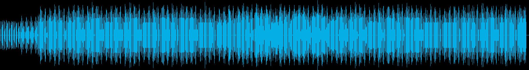 投稿動画の前置き解説BGMの再生済みの波形