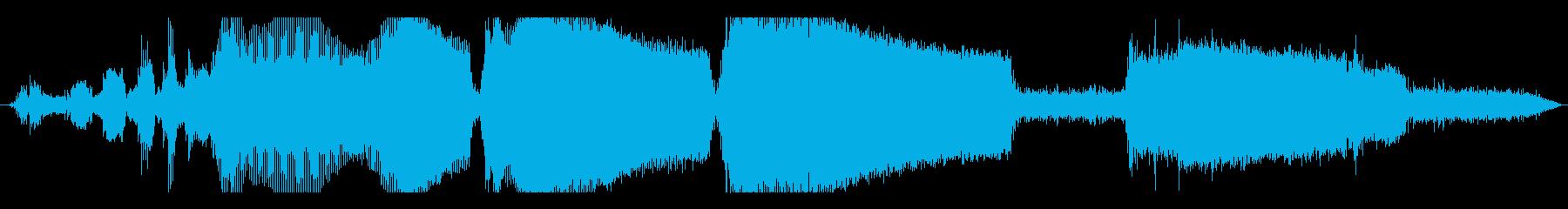 車 オペルカデット高速加速ギアシフト01の再生済みの波形