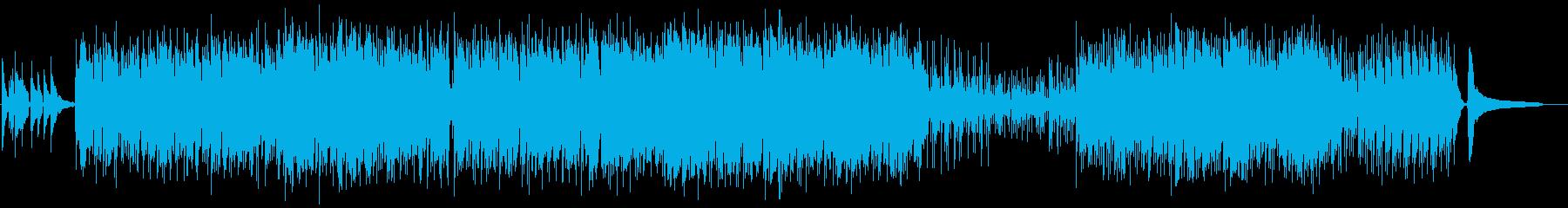 チークタイムの再生済みの波形