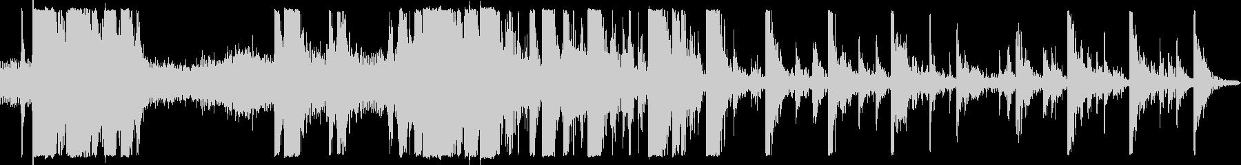 トラッカーバックホーバケットクラン...の未再生の波形