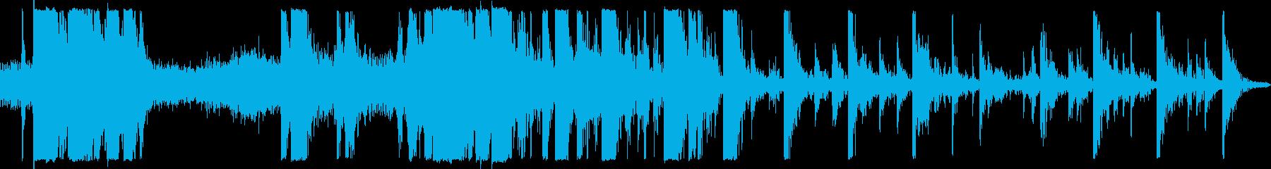 トラッカーバックホーバケットクラン...の再生済みの波形