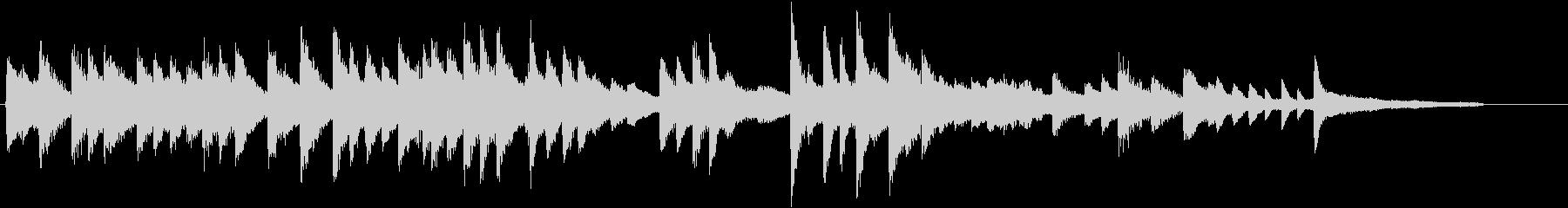 証城寺の狸囃子モチーフのピアノジングルDの未再生の波形