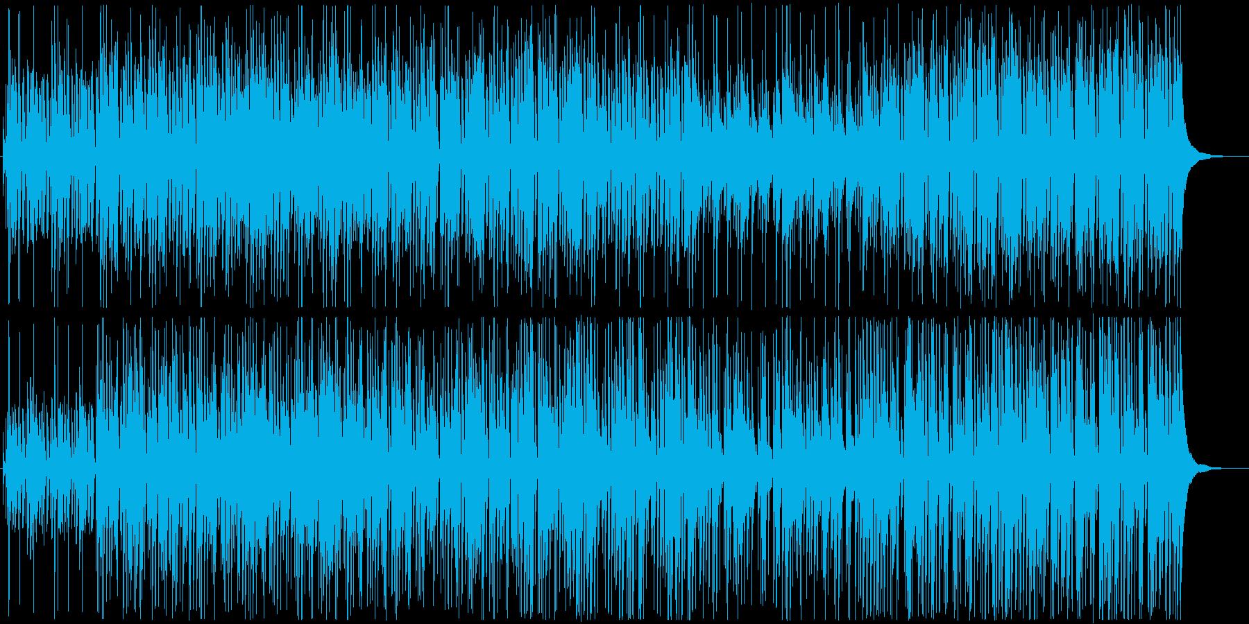 ハッピーでお洒落なボッサジャズの再生済みの波形