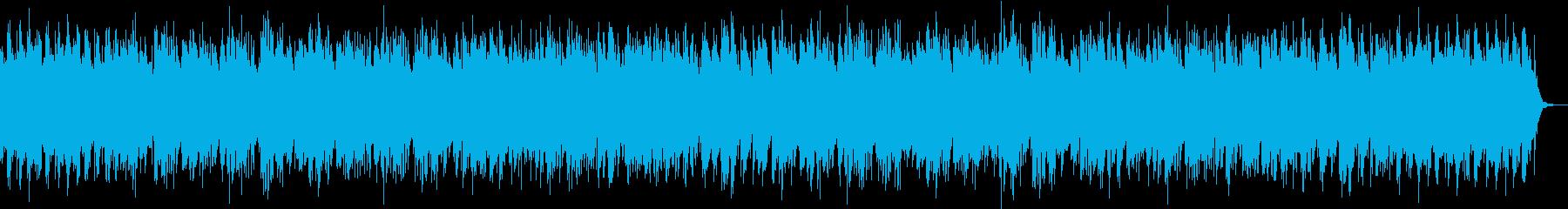 ゆったりと落ち着いた雰囲気のボサノバの再生済みの波形