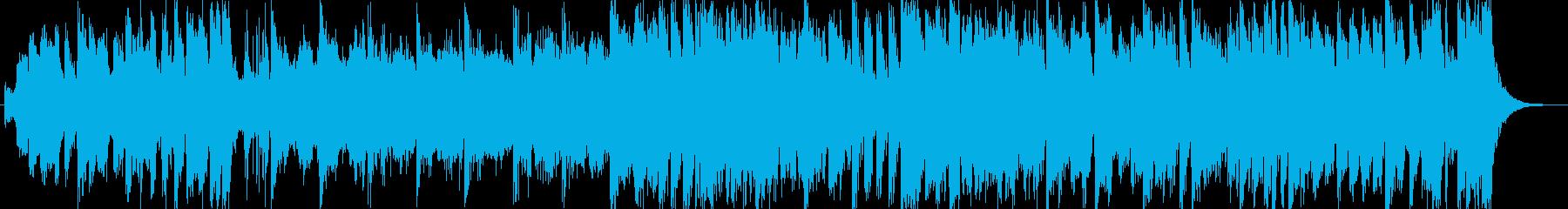 オープニング向きの勇ましい系オーケストラの再生済みの波形