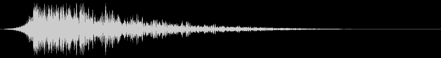 シュードーン-34-1(インパクト音)の未再生の波形
