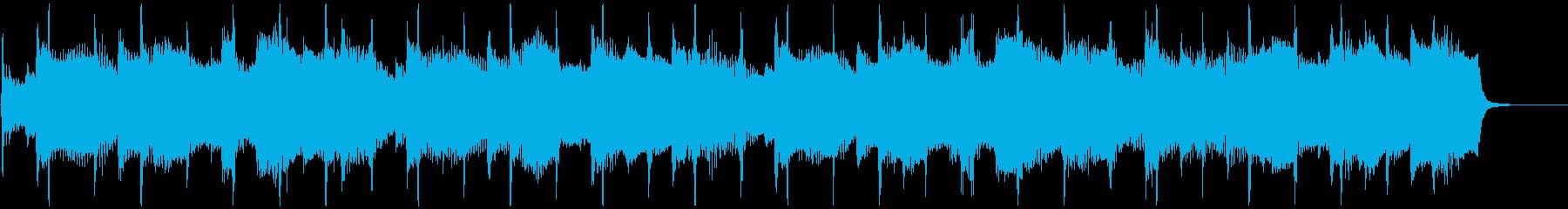 アコギのジングル、CM、企業VPの再生済みの波形
