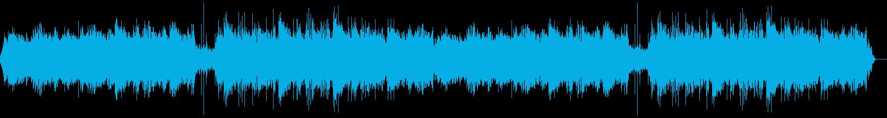 暖かアンビエントシンセと印象的なピアノ曲の再生済みの波形