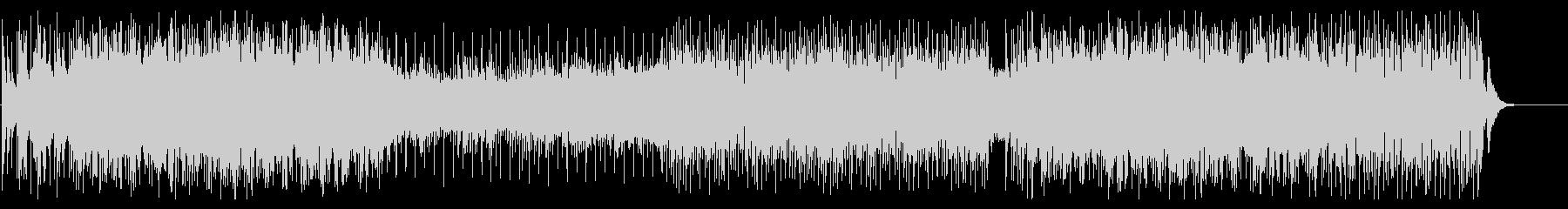メロディアスなエモ系ロックの未再生の波形