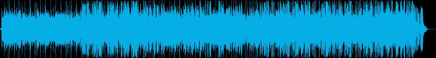 ジャズとファンク。サックス、ブラス...の再生済みの波形