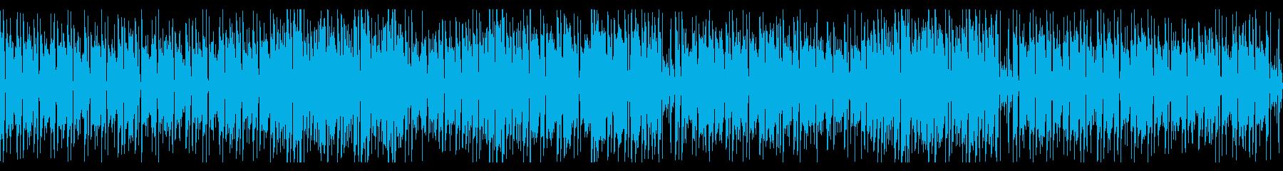FMで流れてそうなR&B系スムースジャズの再生済みの波形