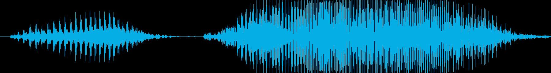 いくよっ!の再生済みの波形