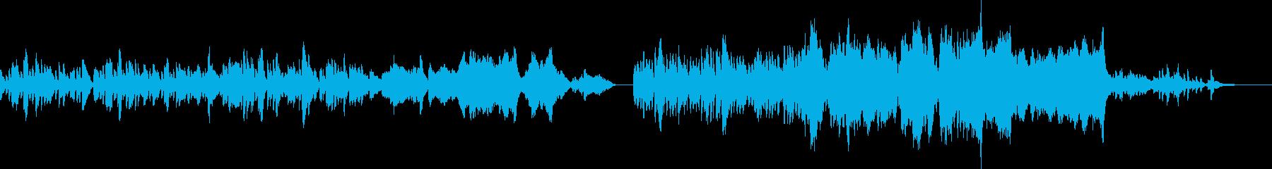 明るく弾むようなPV映像にの再生済みの波形