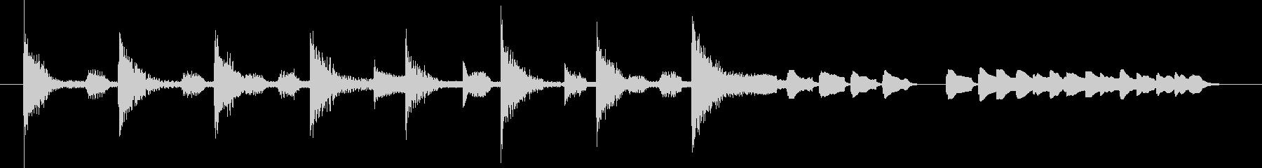 ブンチャブンチャ~テレレテッテレー 5の未再生の波形