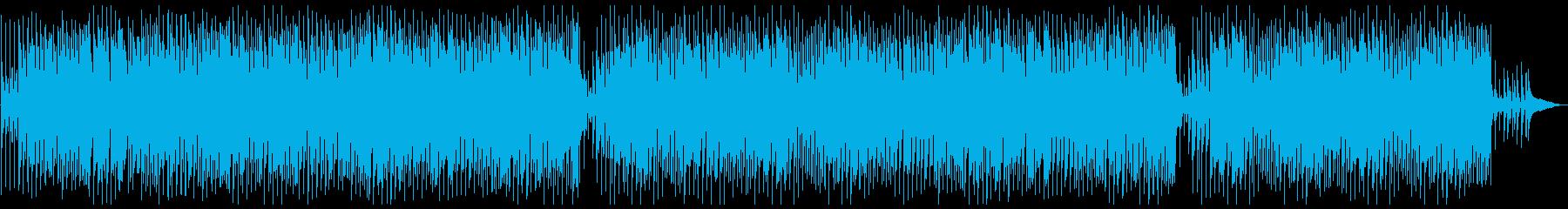 軽快で妖艶なレトロなジプシージャズの再生済みの波形