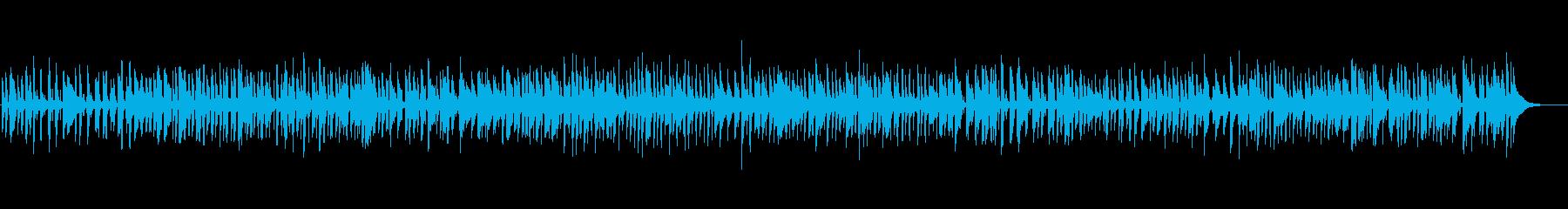 アパレルの店内に似合うBGMの再生済みの波形