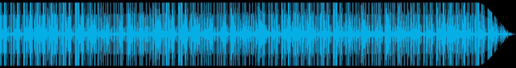 リゾートの日常を表現したビートですの再生済みの波形