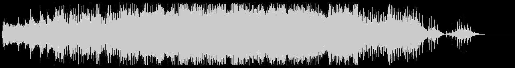 戦闘系っぽいピアノTranceの未再生の波形