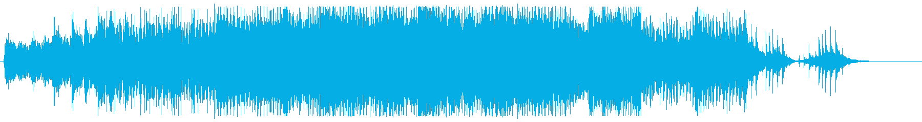戦闘系っぽいピアノTranceの再生済みの波形