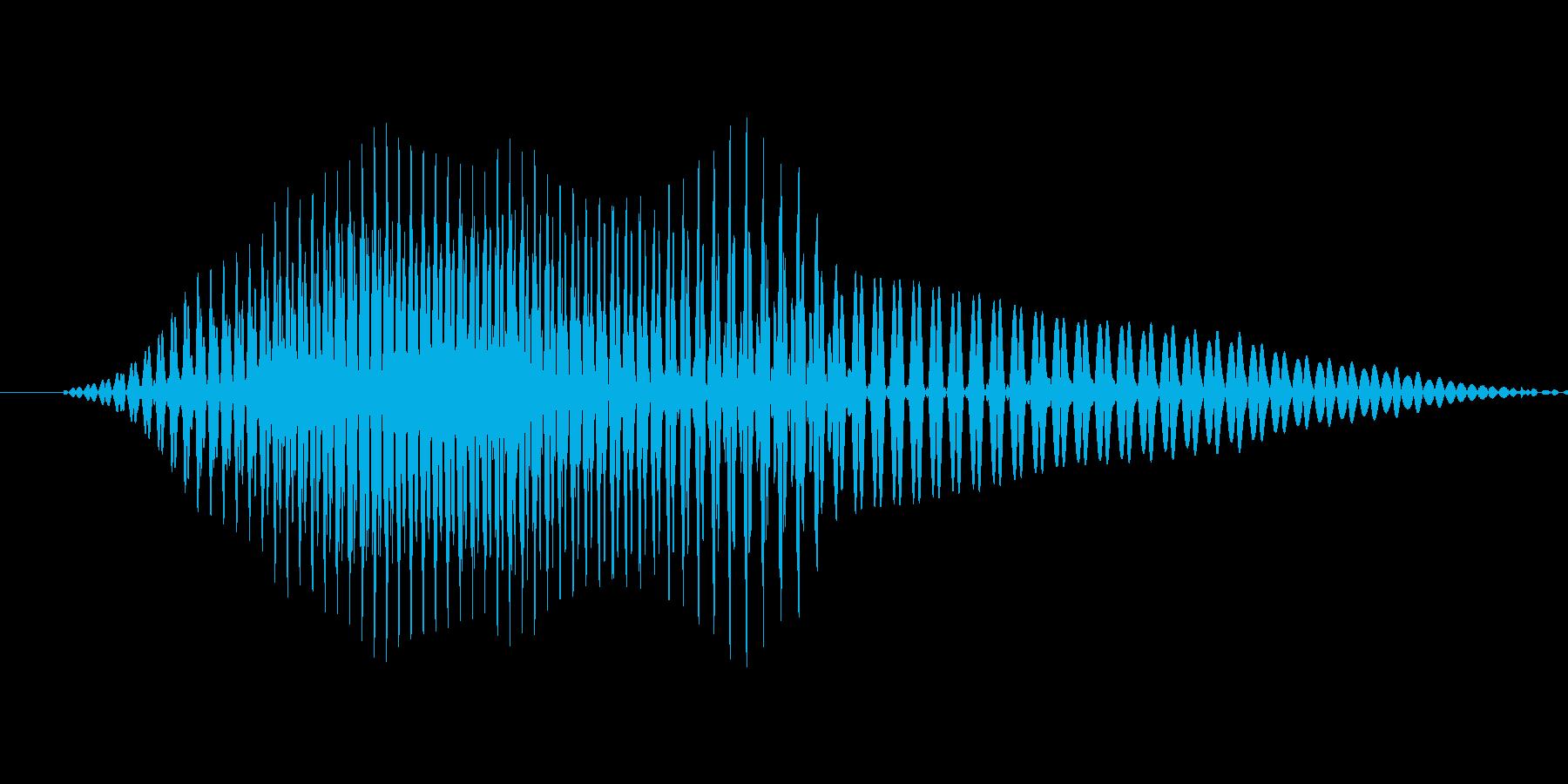 1 (One, ワン、米国女性声優:K…の再生済みの波形