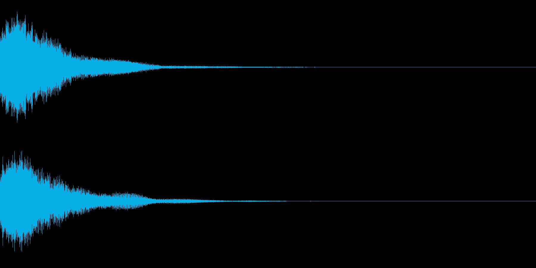 システム起動音_その6の再生済みの波形