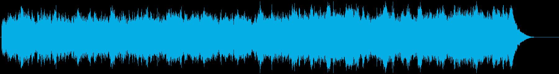 ノイジーでクールなゲームミュージックの再生済みの波形