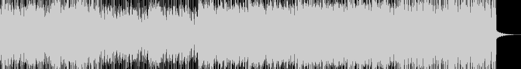 ストリングスメインのメロディアスな緊迫曲の未再生の波形
