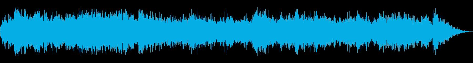 火山噴火の再生済みの波形